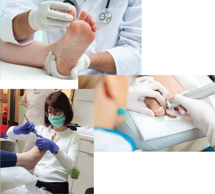 A collection of nail treatments